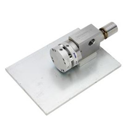 "Picture of 20K Dump Style Air-Operated Diverter Valve - 3/4"" MP Female (Base-Mounted)"